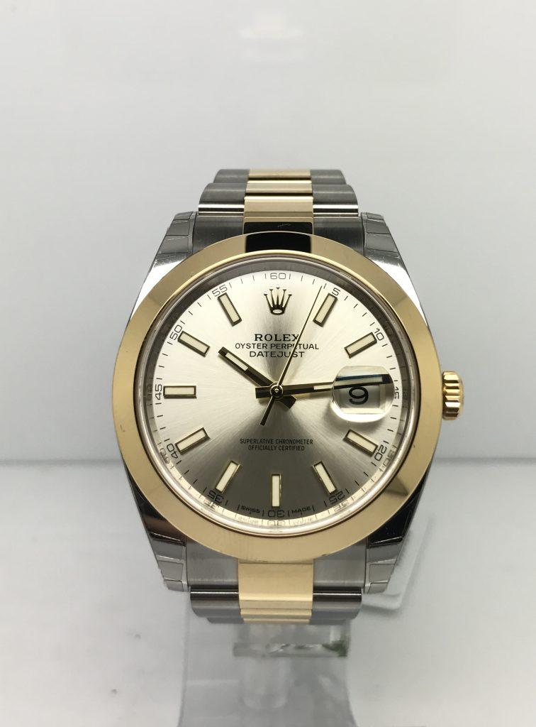 Rolex Datejust 41 Steel & Gold 126303