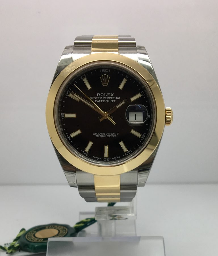 Rolex Datejust 41 Steel & Gold 126303 copy