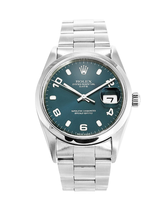 Rolex Oyster Perpetual 15200 Steel Blue dial
